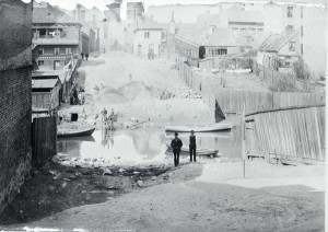 Bilde av Hausmannsgate fra 1891