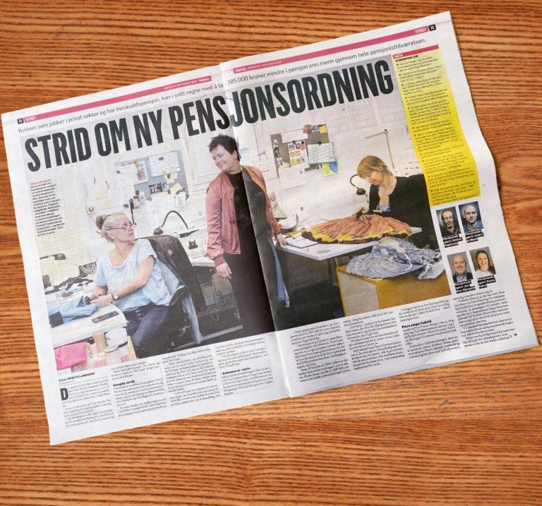 Dagbladet om pensjon