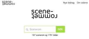 scenerommet.no